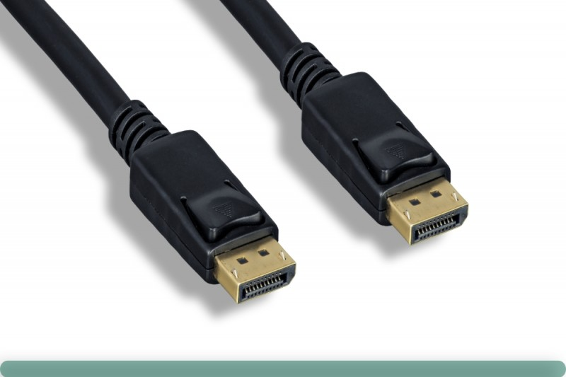 28AWG DisplayPort 1.2 Cable with Latch