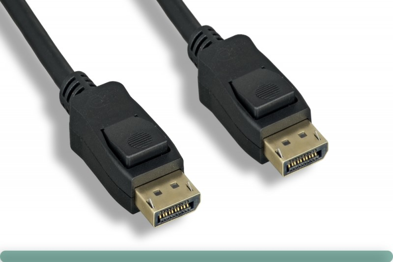 DisplayPort 1.4 Cable with Latch VESA Certified