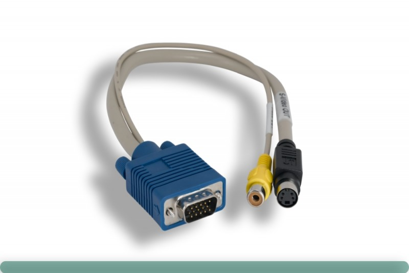 VGA to S-Video / Composite Cable