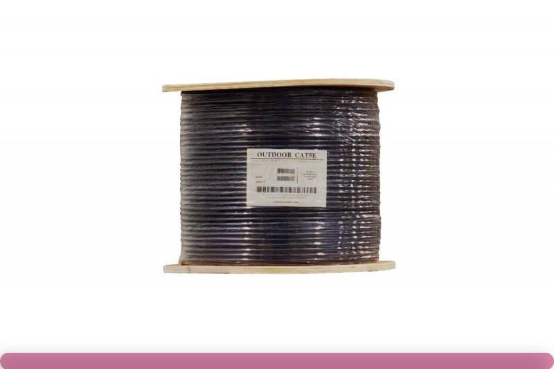 Cat. 5e UTP Solid Outdoor Bulk Cable
