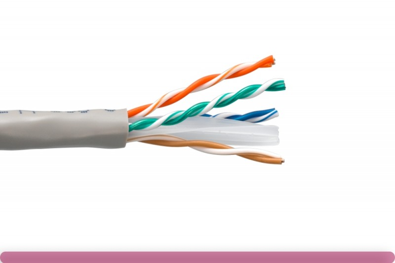 Cat. 6 CMR UTP Solid Ethernet Bulk Cable 550MHz Gray