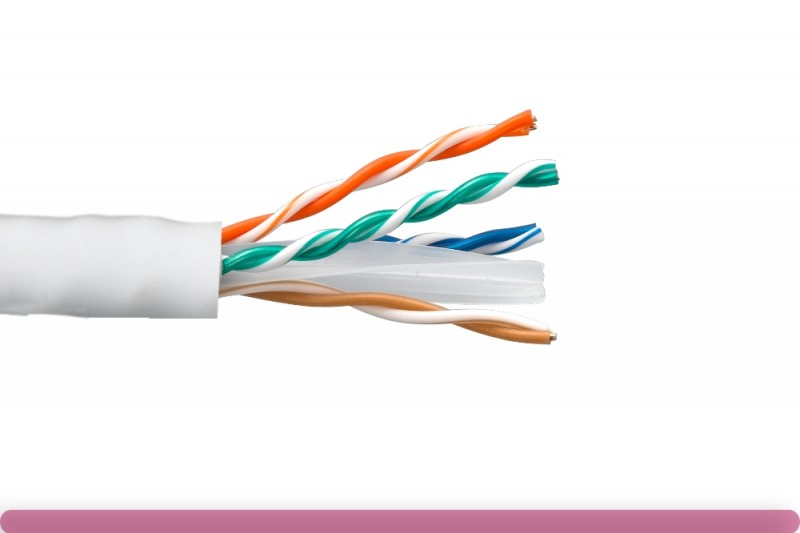Cat. 6 CMR UTP Solid Ethernet Bulk Cable 550MHz White
