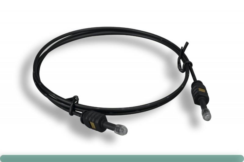 Mini Toslink M/M OD2.2 Digital Optical Audio Cable