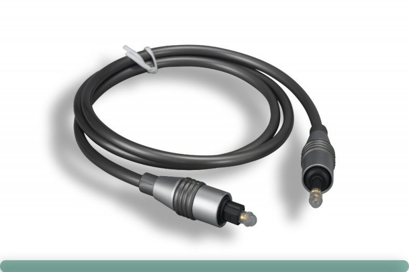 Toslink to Mini Toslink Digital Optical Audio Cable