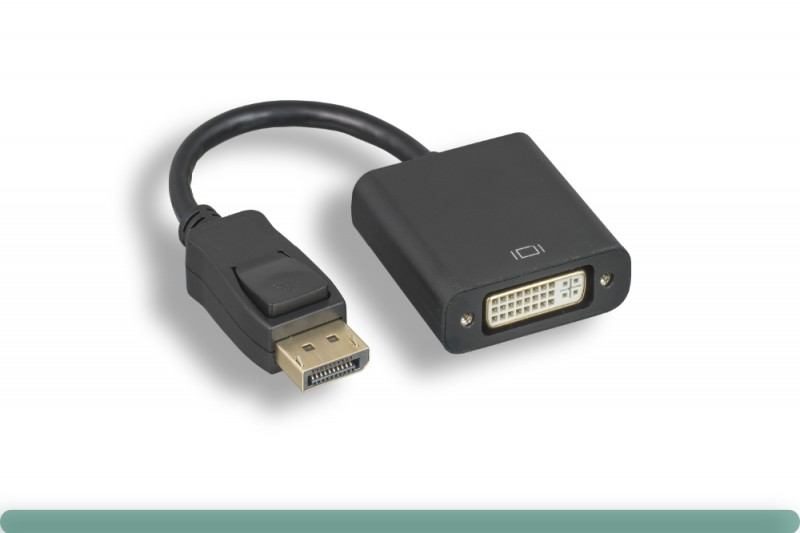 DisplayPort to DVI Adapter with Latch