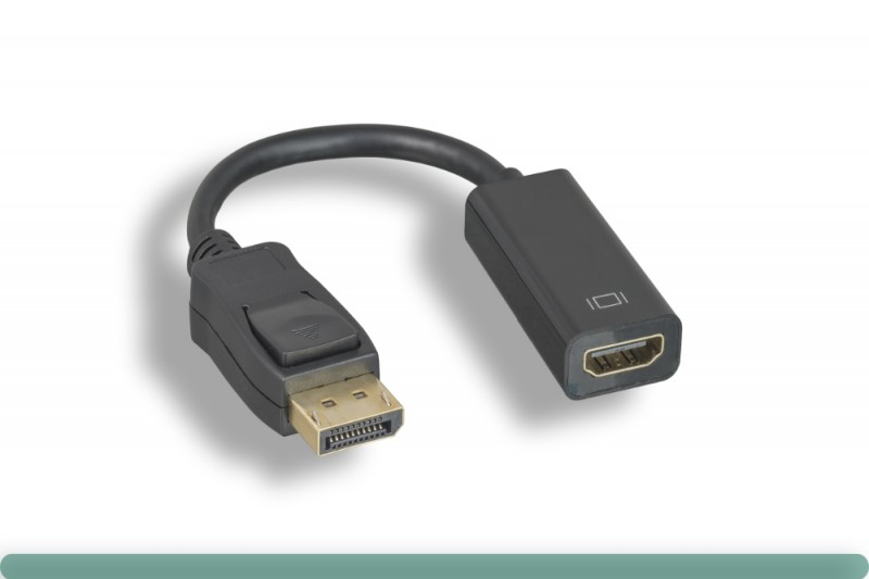 DisplayPort to HDMI Adapter with Latch