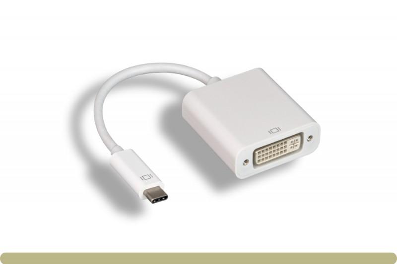 USB 3.1 Type C to DVI Adapter