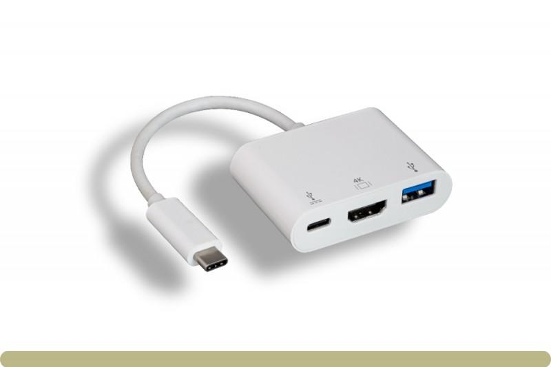 USB 3.1 Type C to USB 3.0 / HDMI / Type C Charging Adaptor