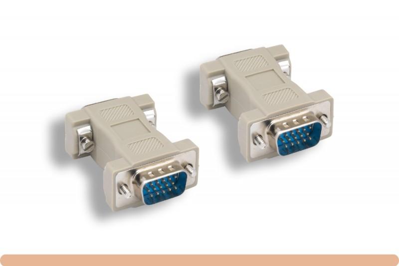 HD15 to HD15 VGA Standard Gender Changer