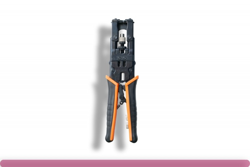 3-in-1 Compression Tool For F/RCA/BNC/RG59/RG6