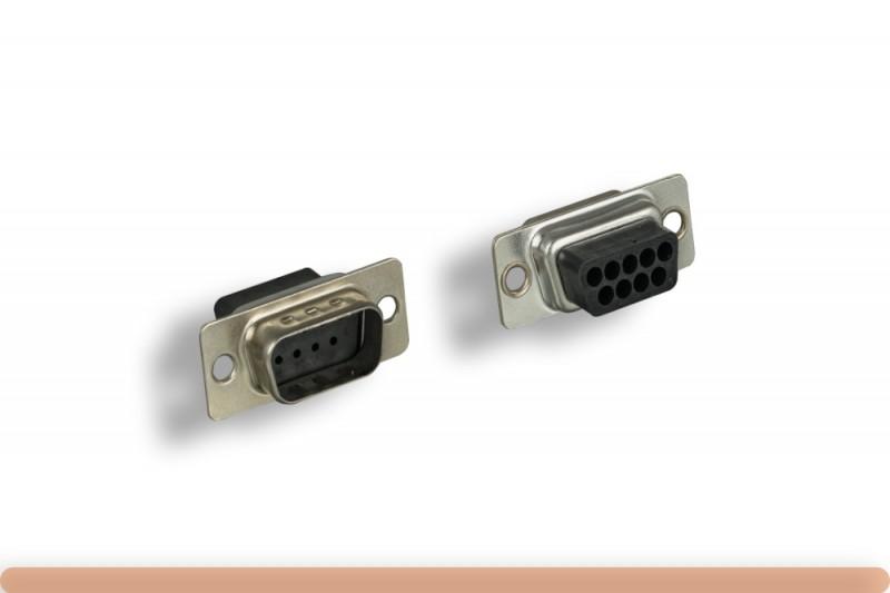DB9M Crimp Type Connector