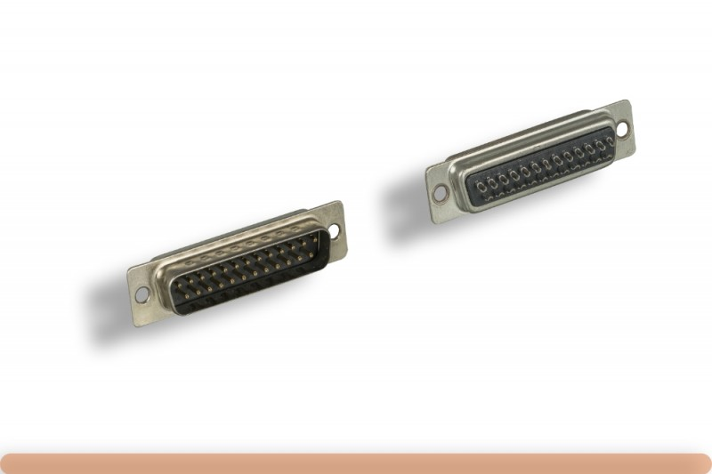 DB25M Solder Type Connector