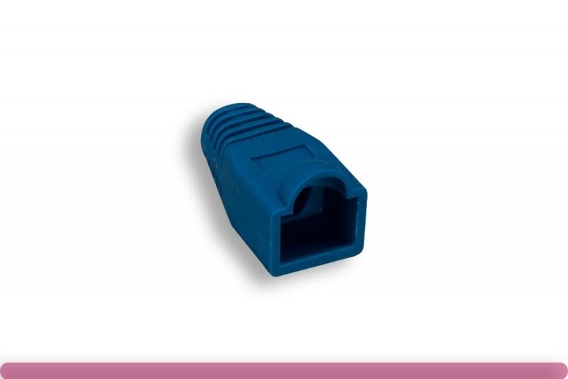 RJ45 Strain Relief Boot Blue Color