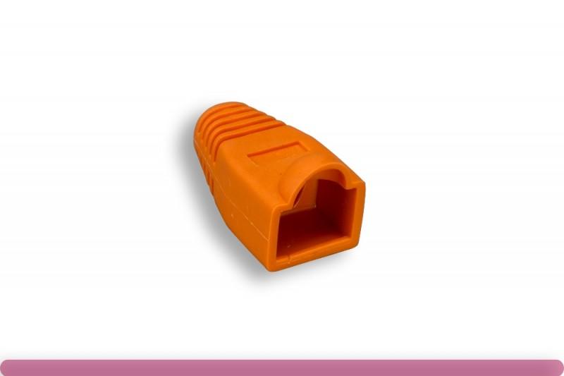 RJ45 Strain Relief Boot Orange Color
