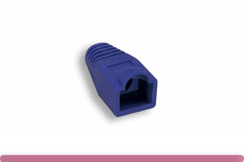 RJ45 Strain Relief Boot Purple Color