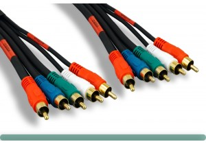 Premium 5 RCA Component Video + Audio Cable