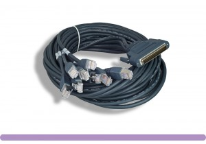 Cisco® HPDB 68 Male to 8 RJ45 Male Cable