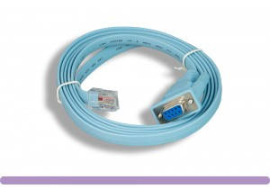 Cisco® Cable DB9 Female to RJ45 Male Console