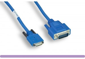 Cisco®  Smart Serial 26-pin Male to DB15 Male Cable (CAB-SS-X21MT)