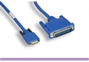 Cisco® Smart Serial 26-pin Male to DB25 Male Cable (CAB-SS-232MT)