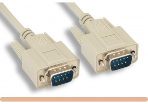 RS-232 DB9 M / M Serial Cable
