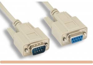 RS-232 DB9 M / F Serial Cable