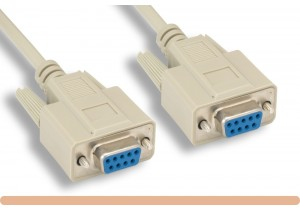RS-232 DB9 F / F Serial Cable