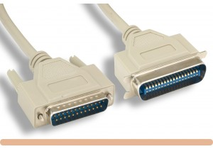 DB25 M to CN36 M Standard Parallel Printer Cable
