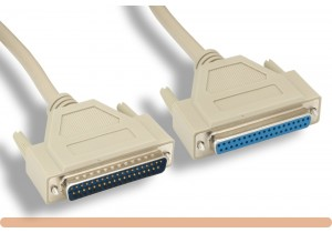 RS-499 DB37 M / F Serial Cable