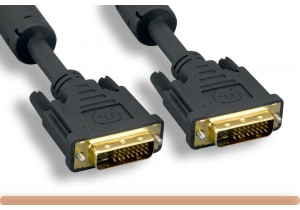 28AWG DVI-D to DVI-D Dual Link Video Cable