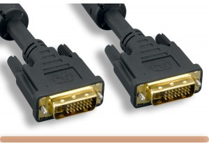 DVI-I M to DVI-I M Dual Link Video Cable