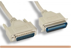 IEEE-1284 DB25 M to CN36 M Parallel Printer Cable
