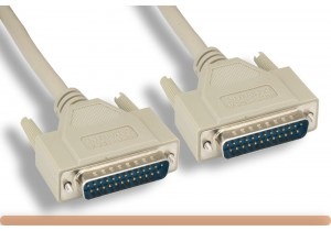 IEEE-1284 DB25 M to DB25 M Parallel Printer Cable