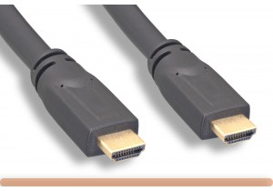 24 AWG. Plenum High-Speed HDMI Cable with Ethernet+Repeater