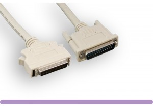 HPDB50M to DB25M SCSI Cable