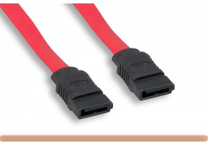 180 Degree 7 Pin Serial ATA Cable