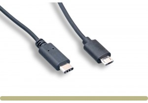 USB 2.0 Type C Male to Micro B Male Cable