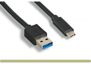 USB Type C 3.1 (G2)  Male to A Male Cable