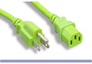 Green Standard North American Power Cord
