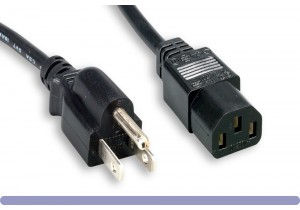 North American Power Cord - Shielded