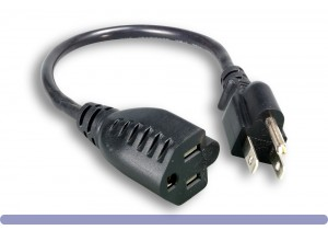 16 AWG Power Cord Extension