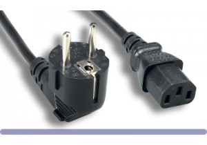 European Schuko Power Cord (C13)