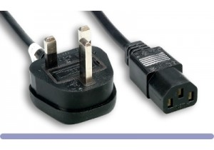 England (UK) Power Cord (C13)