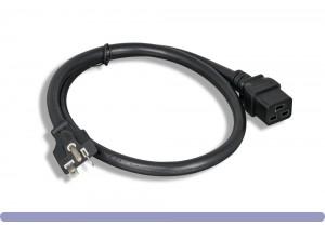 12 AWG AC Power Cord NEMA 5-20P to C19