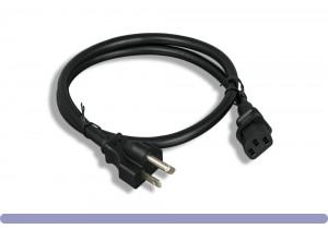 14 AWG AC Power Cord NEMA 6-20P to C13