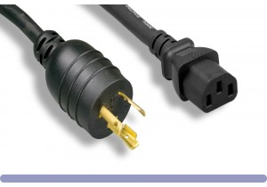 L6-20P / C13 High Voltage / High Current Power Cord