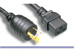 L6-20P / C19 High Voltage / High Current Power Cord