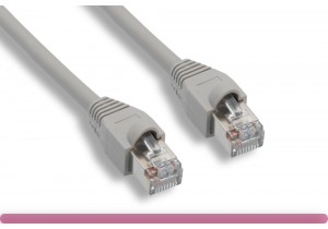 GRAY Color Cat 5e STP Patch Cable