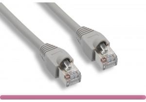 Gray Color Cat 5e STP Patch Cable
