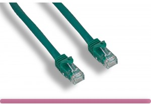 Green Color Cat 6a UTP Patch Cable